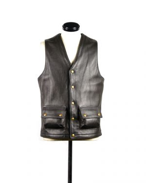 square_bottom_vest_cargo_pocket front